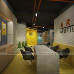 Thiết kế nội thất văn phòng co working space Arena Multimedia – sự pha trộn tinh tế giữa công nghệ hiện đại và nghệ thuật sáng tạo