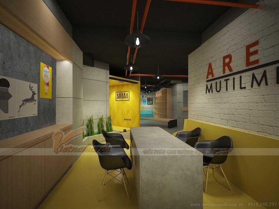 Dự án thiết kế văn phòng 100 chỗ ngồi tại phường Yên Hòa, Cầu Giấy