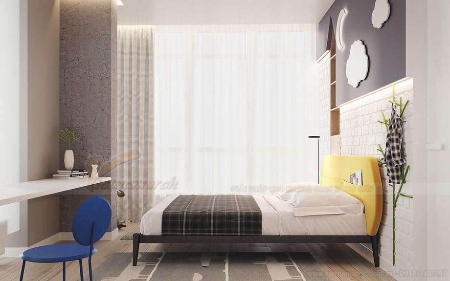 Không gian phòng ngủ ấm cúng