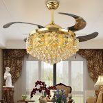 Bật mí bí quyết lựa chọn đèn quạt trần đẹp hợp phong thủy cho phòng khách