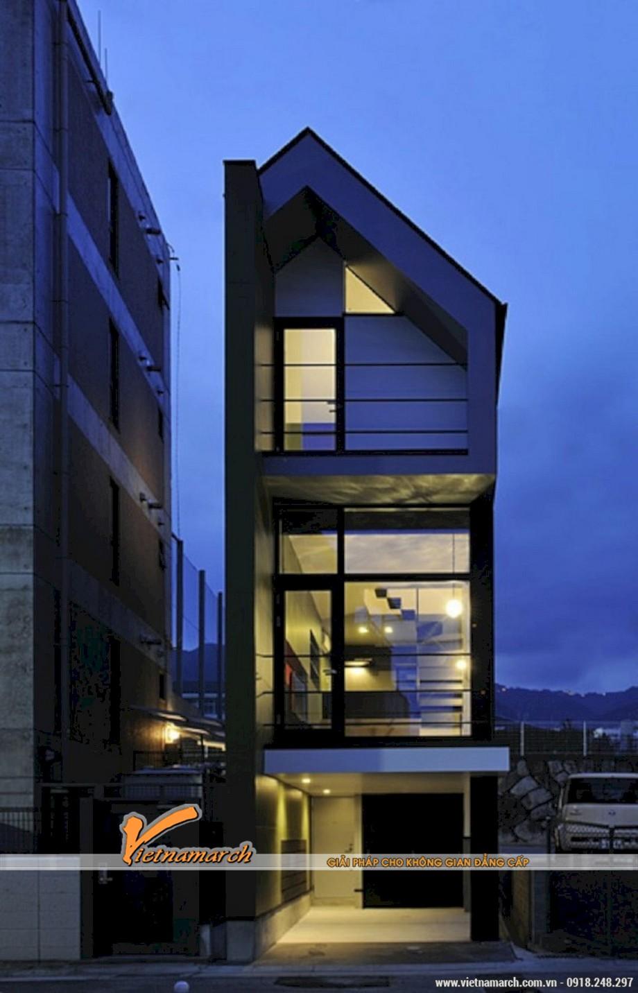 Mẫu 5: Thiết kế hình khối đơn giản mang phong cách mạnh mẽ