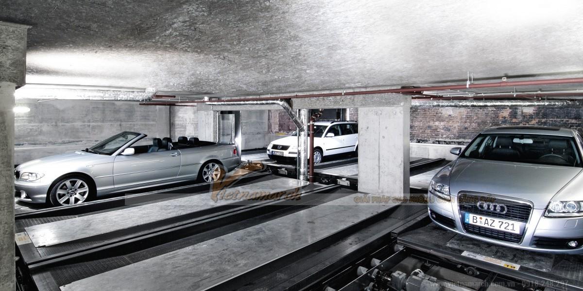 Bãi đỗ xe thông minh đem lại nhiều lợi ích