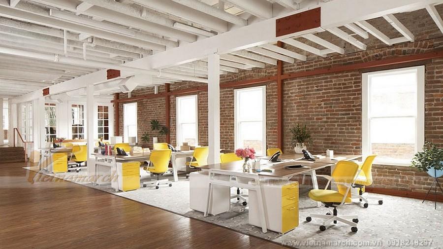 Hướng thiết kế văn phòng phải đảm bảo nhận được nhiều ánh sáng nhất