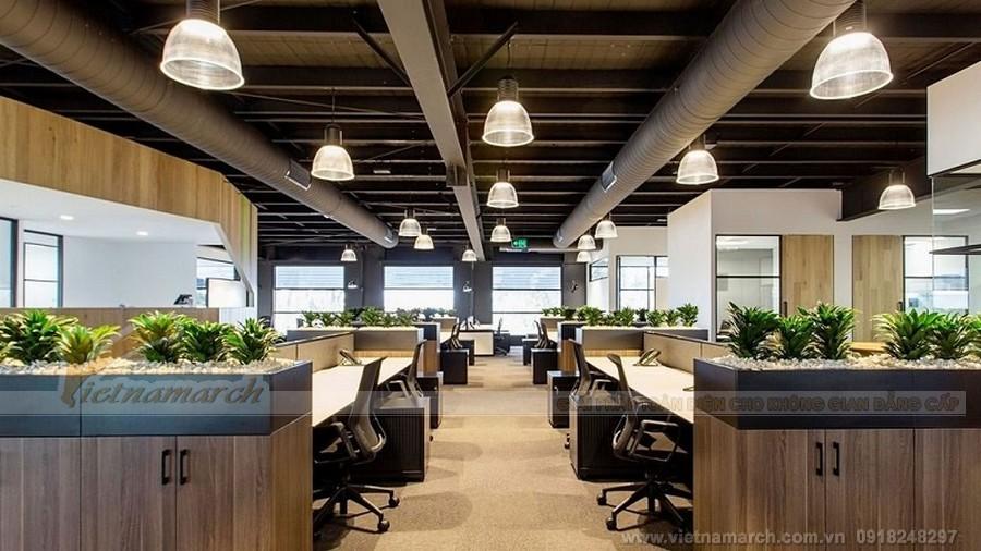 Đồ nội thất bằng gỗ được chú trọng khi thiết kế văn phòng cho người mệnh mộc