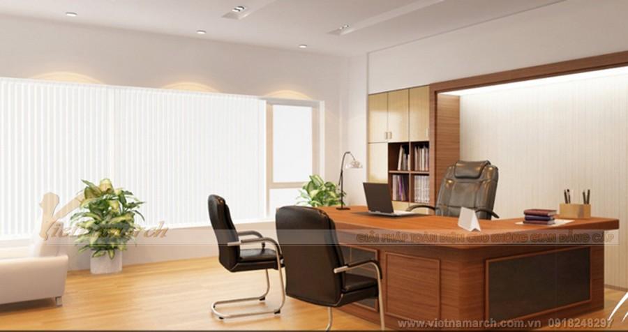 Phòng của lãnh đạo và các cấp quản lý phải được bố trí ở những nơi có phong thủy tốt nhất