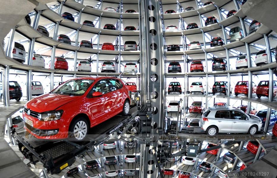 Thiết kế đỉnh cao của công nghệ chế tạo bãi đỗ xe thông minh