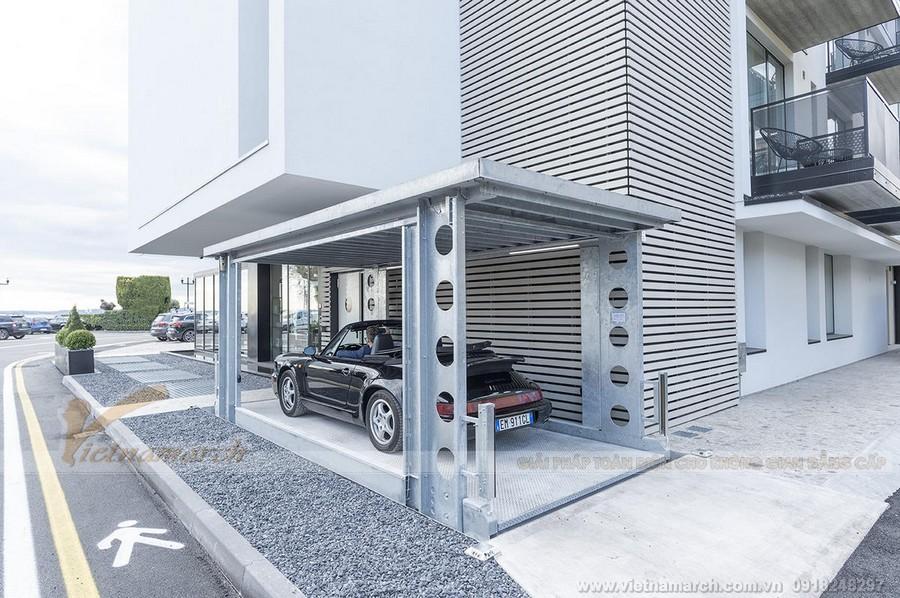 Cơ chế hoạt động bãi đỗ xe thông minh ngầm