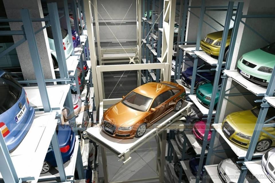 Bãi đỗ xe thông minh giúp tầng hầm phát huy được vai trò của mình.
