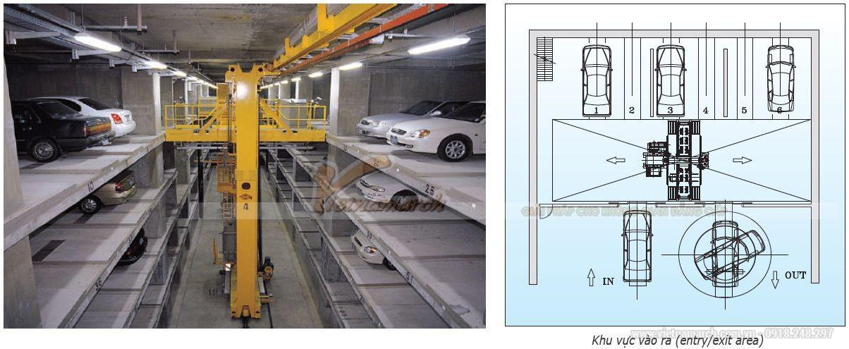 Hệ thống đỗ xe loại thang nâng