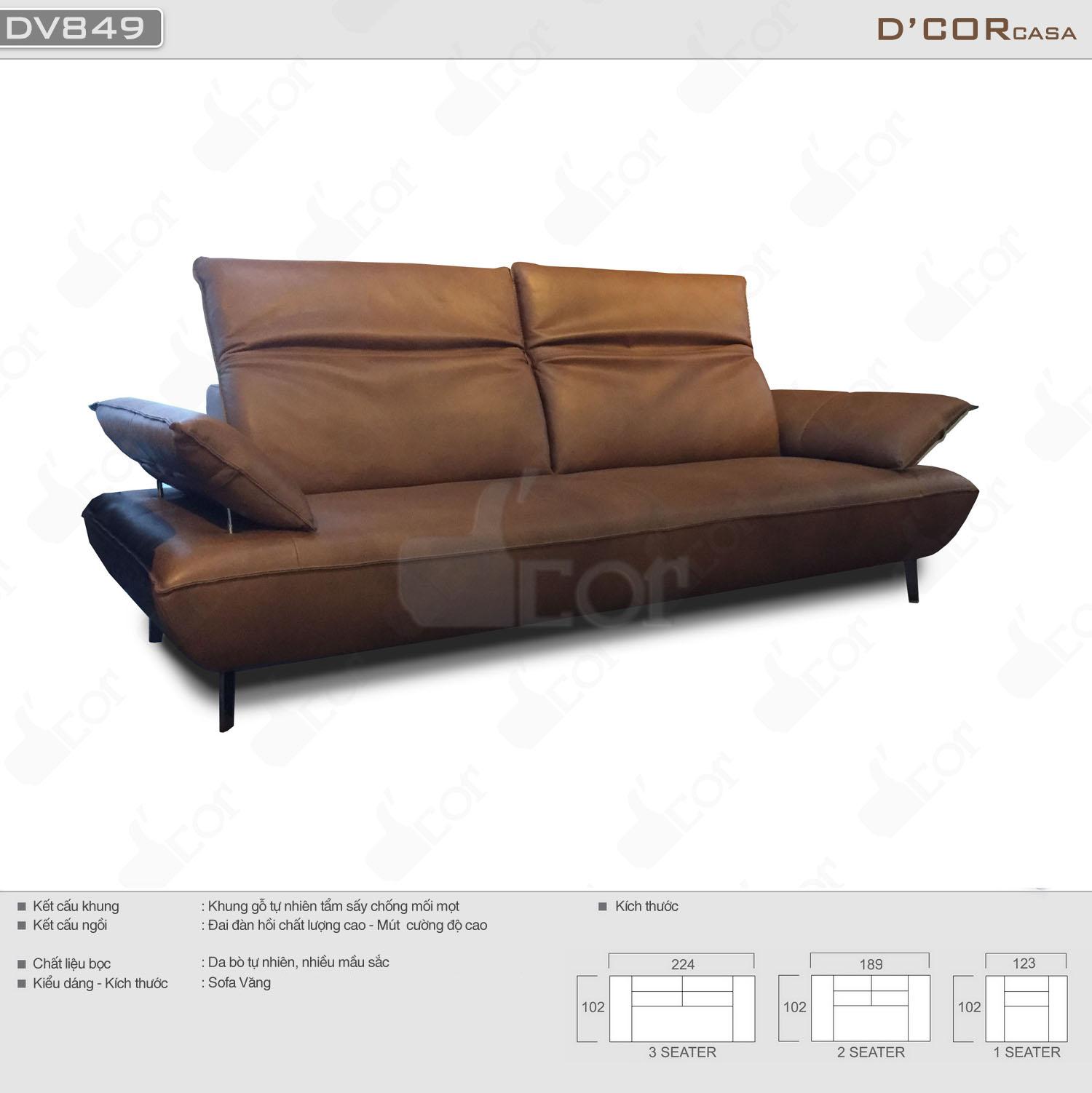 sofa malaysia DV849