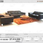Mê mẩn với mẫu sofa văng da bò nhập khẩu Malaysia đẹp tự nhiên cho phòng khách sang trọng: DV851