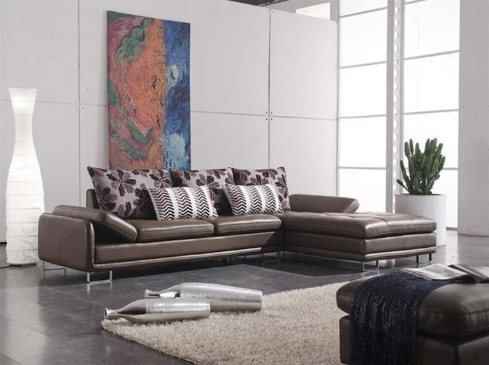 Sofa da nhập khẩu đem đến sự đẳng cấp cho ngôi nhà