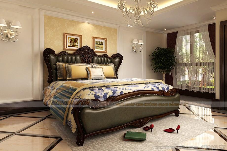 Phòng ngủ ấm cúng thanh lịch