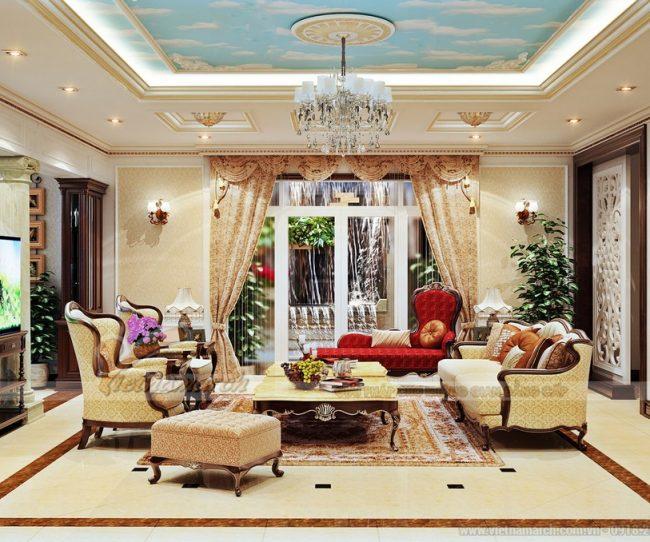 Một vài thiết kế nội thất mang phong cách tân cổ điển dành cho biệt thự song lập The Manor Central Park Nguyễn Xiển