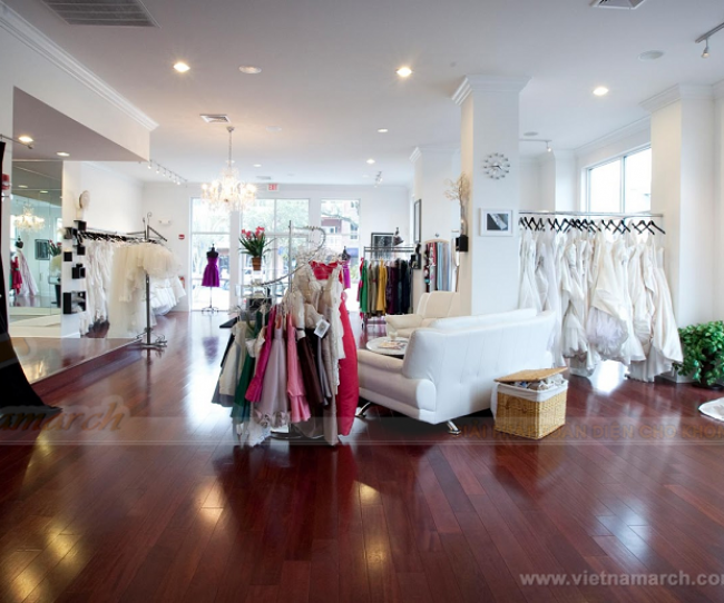 thiet ke noi that showroom