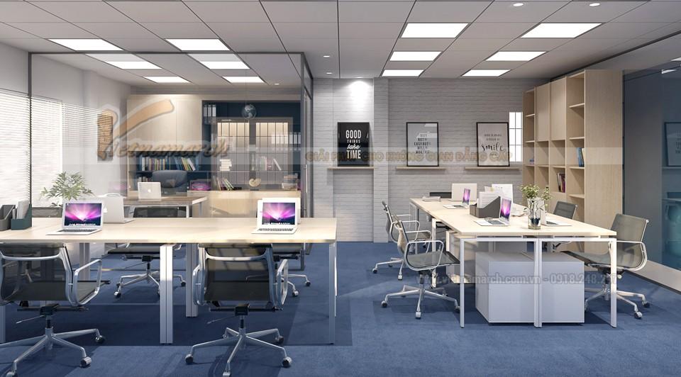 Thiết kế ánh sáng cho văn phòng nhỏ