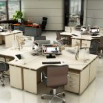Thiết kế văn phòng làm việc: Giải pháp nào dành cho không gian nhỏ, hẹp?