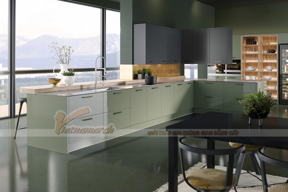 TOP #10 mẫu tủ bếp hiện đại sang trọng phù hợp với mọi không gian sống!