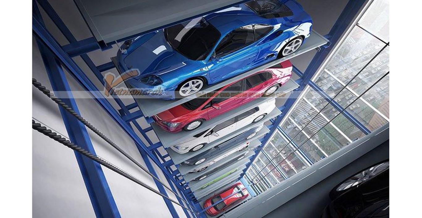 thiết kế bãi đỗ xe thông minh, bãi đỗ xe thông minh ở hà nội