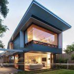 7 mẫu thiết kế nhà phố 2 tầng  độc đáo hiện đại thu hút mọi ánh nhìn