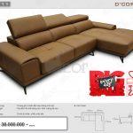Mẫu sofa da nhập khẩu cao cấp Malaysia giá rẻ hot nhất năm 2018: DG711