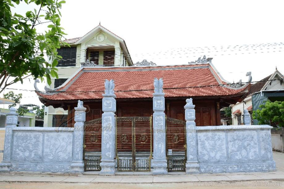 Cổng nhà thờ họ đẹp và đầy uy nghiêm 4