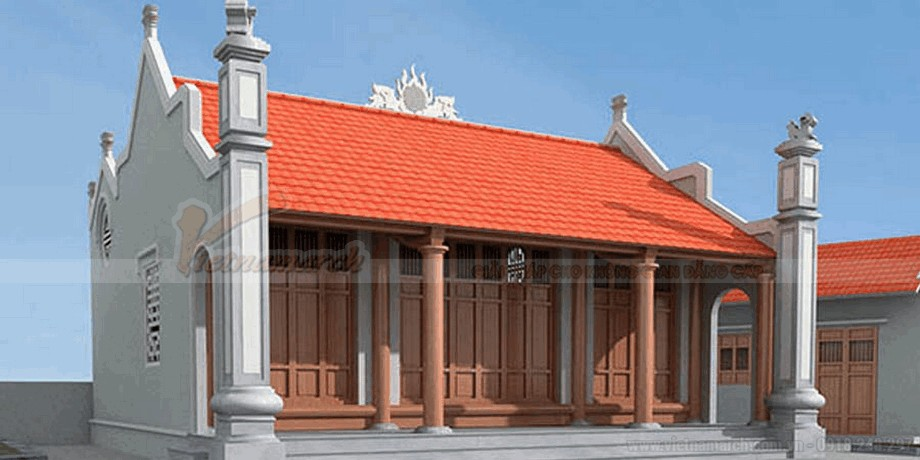 Thiết kế nhà thờ họ đẹp mắt và thanh lịch 5