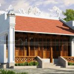 6 mẫu nhà thờ họ đẹp với kiến trúc mái đỏ truyền thống hút mắt người nhìn