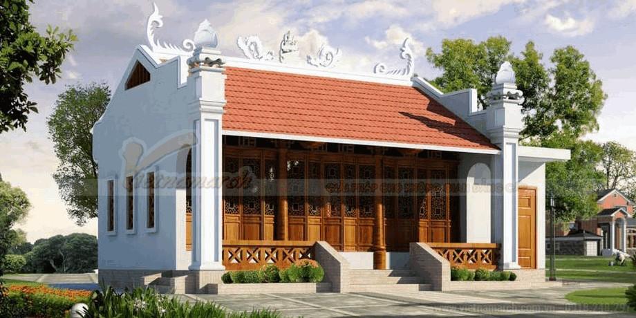 Thiết kế nhà thờ họ đẹp mắt và thanh lịch 4