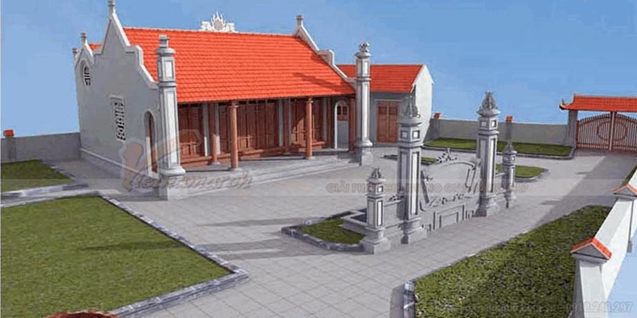 Thiết kế nhà thờ họ đẹp mắt và thanh lịch 3