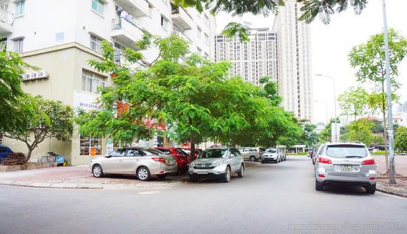 Bãi đỗ xe thông minh tự động kết hợp cây xanh khu đô thị Yên Hòa