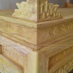 Bàn thờ gỗ mít và những điều bạn cần biết!