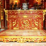Các mẫu bàn thờ gia tiên phổ biến nhất năm 2018