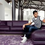 Phá cách với sofa góc màu tím mang phong cách hiện đại chuẩn châu Âu