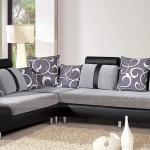 Mách bạn chọn mẫu ghế sofa góc lớn cho phòng khách rộng càng thêm hiện đại