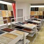 Tuyệt chiêu thiết kế nội thất showroom gạch men đẹp ấn tượng
