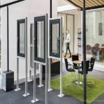Thiết kế nội thất showroom cửa nhựa, dấu ấn làm nên thương hiệu