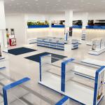Thiết kế nội thất showroom cửa hàng điện thoại máy tính chuẩn công nghệ 4.0