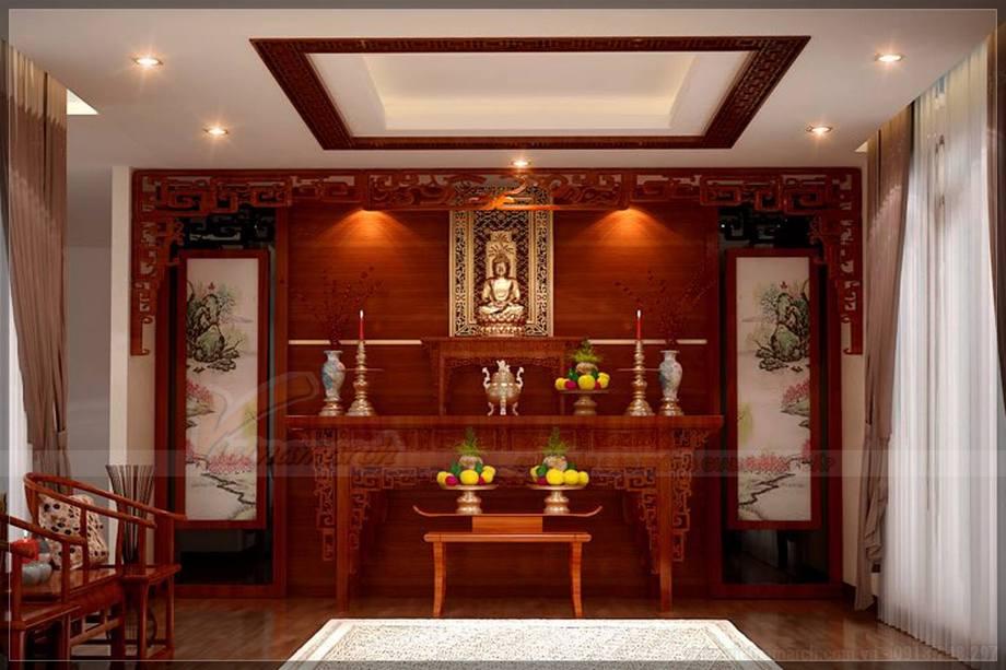 7+ mẫu bàn thờ Phật hiện đại mà bạn không nên bỏ qua trong năm 2018