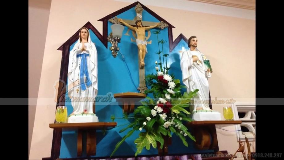 Tổng hợp những mẫu bàn thờ Thiên Chúa đẹp mà bạn không nên bỏ qua