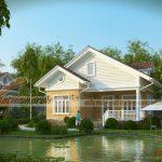 5 mẫu thiết kế nhà cấp 4 với sân vườn xanh mát tuyệt đẹp