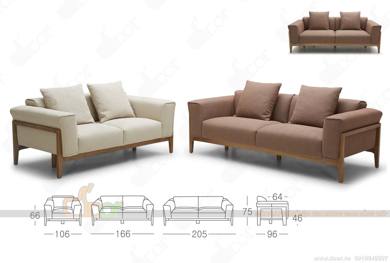 12 mẫu sofa văng nỉ giá rẻ Hà Nội hot nhất 2018-05