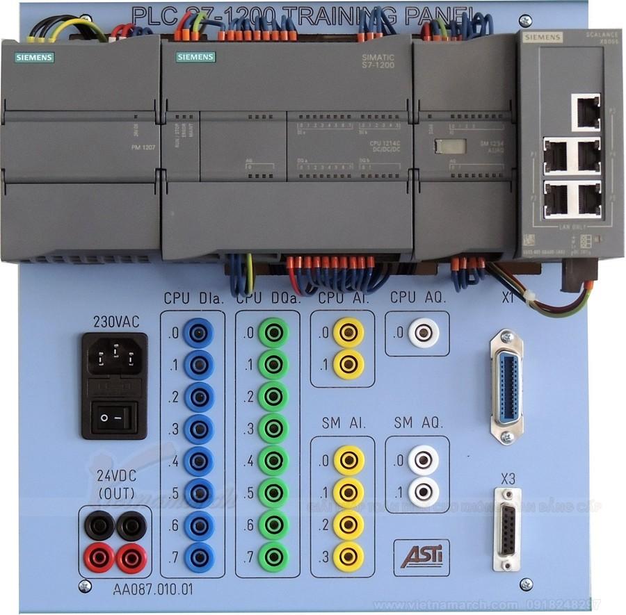 Bãi đỗ xe thông minh điều khiển máy tính PLC - công nghệ hiện đại thời @