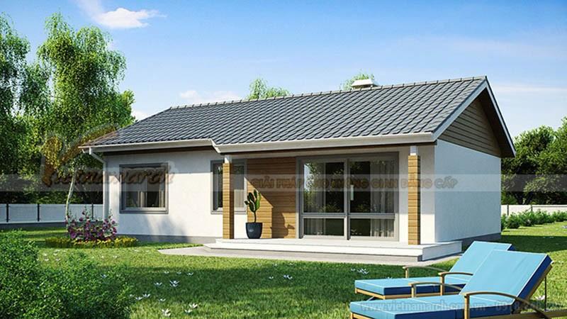 Bản vẽ thiết kế nhà cấp 4 nông thôn