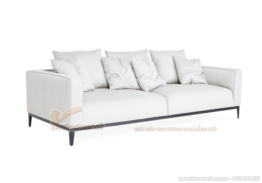 12 mẫu sofa văng nỉ giá rẻ Hà Nội hot nhất 2018-10