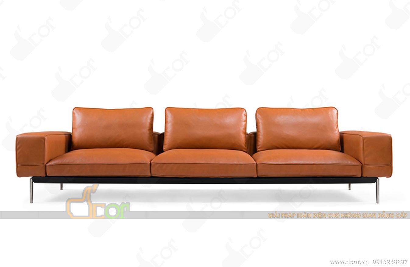 12 mẫu sofa văng nỉ giá rẻ Hà Nội hot nhất 2018-02