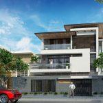 Những mẫu thiết kế nhà biệt thự 3 tầng đẹp ấn tượng
