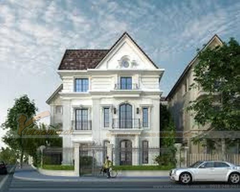 mẫu thiết kế nhà biệt thự 3 tầng đẹp
