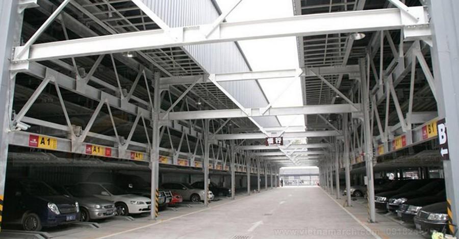Bãi đỗ xe cao tầng – có phải là giải pháp cho tình trạng chỗ thừa xe thiếu hiện nay