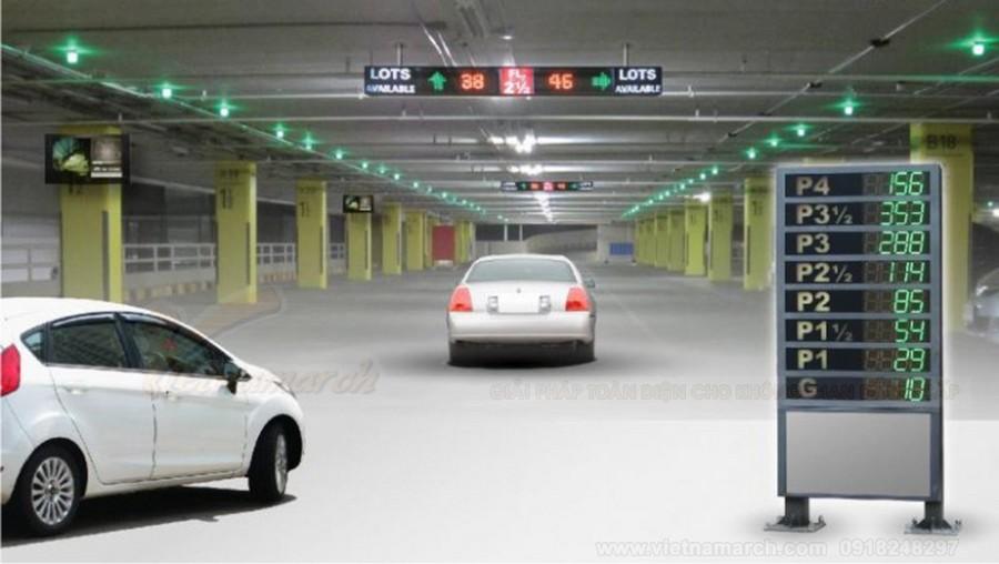 Không còn nỗi lo gửi xe nhờ giải pháp hệ thống gửi xe thông minh
